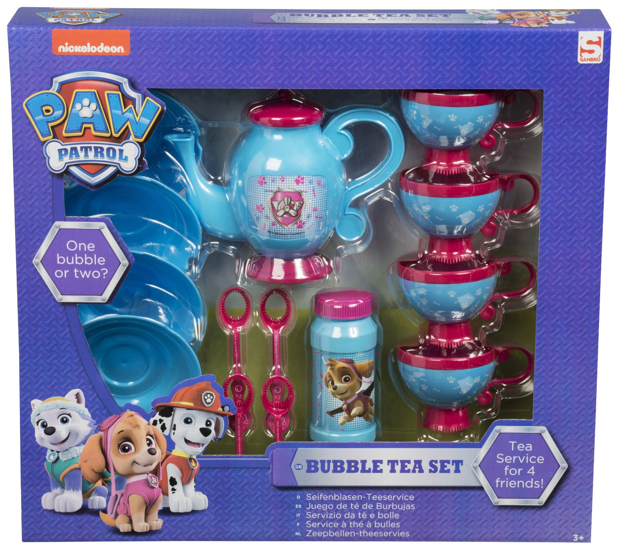 Official Paw Patrol Marshall Everest Amp Skye Bubble Tea
