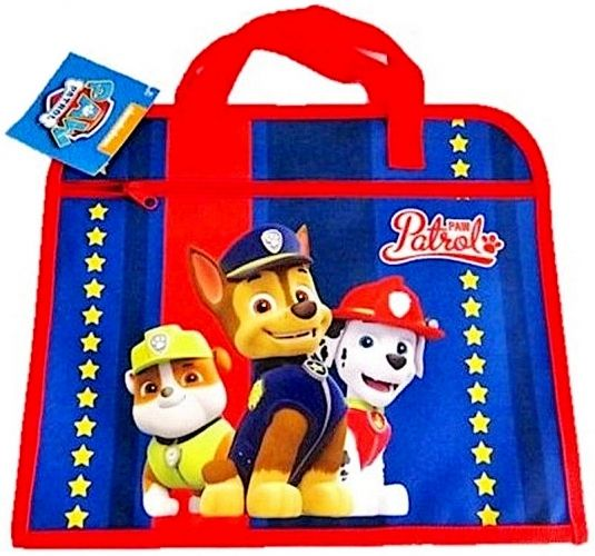 "Boys Official Paw Patrol ""Chase, Marshall & Rubble"" Character School Book Bag"