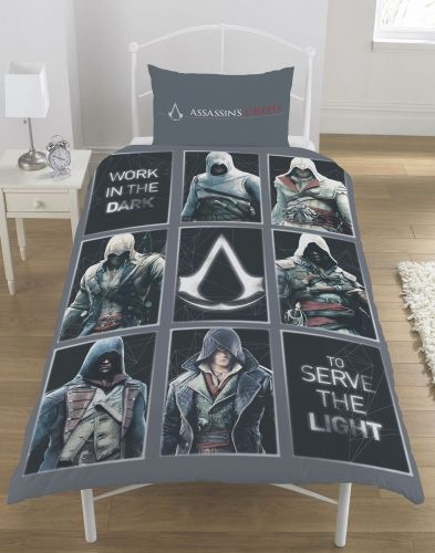 Official Assassins Creed Legacy Reversible Single Duvet