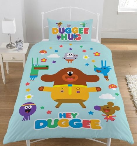 Official Hey Duggee Hello Squirrels Reversible Single