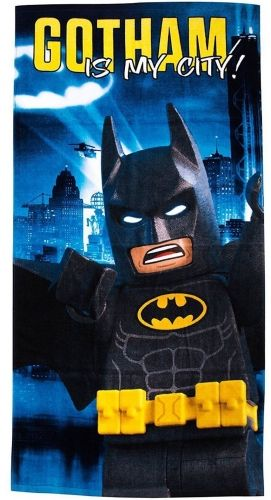 "Official Lego Batman Movie ""Hero"" Velour Beach Towel"